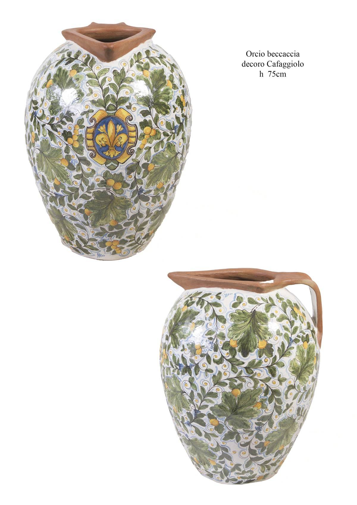 Complementi D Arredo In Ceramica.Complementi Arredo In Ceramica Dipinta A Mano La Chimera